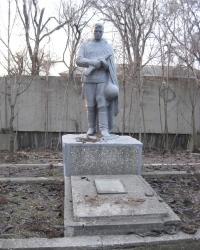 Братская могила в парке шахты Кировская в Донецке