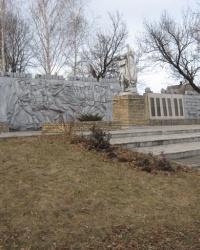 Воинский мемориал в Старомихайловке