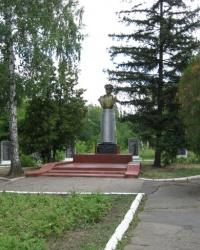 Памятные доски погибшим в 1941-1945 годах в Зугрэсе