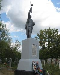 Братская могила советских воинов по ул.Ленинградской в Славянске