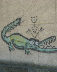 Спрей-арт (граффити) в Харцызске