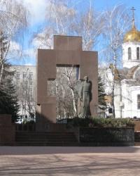 Памятник сотрудникам органов внутренних дел в Донецке