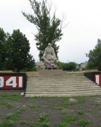 Братская могила советских воинов в селе Каменка Изюмского района