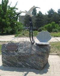 """Памятник """"Чайке-хозяйке"""" в Бердянске"""