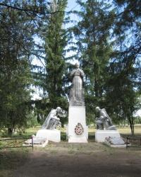 Братская могила в селе Луково