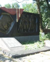 Воинский момориал в селе Лебединское