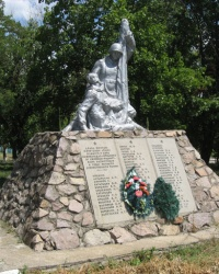 Братская могила в селе Коньково