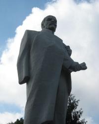 Памятник Ленину в пгт. Новый Свет