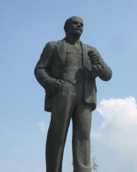 Памятник Ленину в Иловайске