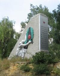 Воинский мемориал в центре Кутейниково
