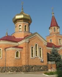 Никольский храм в поселке Володарское