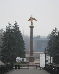 """Добрый Ангел Мира"" в Донецке."