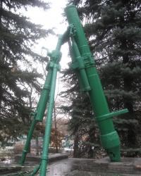Памятник одному из освободителей Донбасса - Масловскому В.Н.