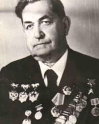 Памятная доска К. Г. Петрову в Стаханове