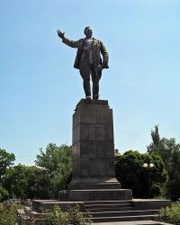 Памятник Ф.А. Сергееву (Артему) (демонтирован). г.Артемовск