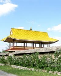 """Донбасс многоконфессиальный. Буддийский монастырь Шейчен-линг (""""Обитель Великого Знания"""")"""