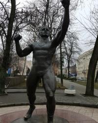 Памятник Вартересу Самургашеву в городе Ростов-на-Дону