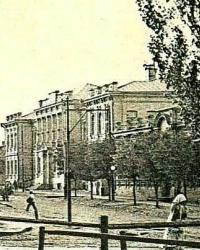 Городская бесплатная детская больница им. И.М. Алексеенко в г.Екатеринослав (пр.Пушкина, 26)