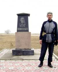 Памятник А.В.Суворову на Кинбурнской косе