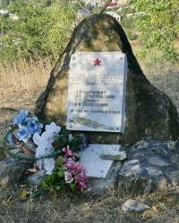 Памятник на месте боя пограничников в c.Верхняя Кутузовка (Алуштинский р-н)