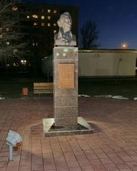 Памятник астраханскому губернатору Н.А.Бекетову в г.Волгограде