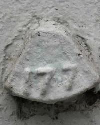 Репер №177 по пр.В.И.Ленина, 27 в г.Волгограде