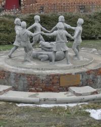 Копия фонтана «Бармалей» возле мельницы Гергардта в г.Волгограде