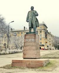 Памятник В.И.Ленину в пос.Баррикады в г.Волгограде