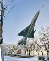 Памятник лётчикам Качинского училища - защитникам Сталинграда в г.Волгограде