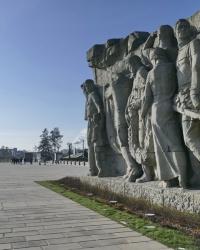 Мемориальный комплекс «Героям Сталинградской битвы» на Мамаевом кургане в г.Волгограде