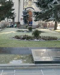 Малая братская могила на Мамаевом кургане в г.Волгограде