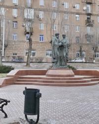 Скульптурная композиция «Благословение» – памятник Петру и Февронии в г.Волгограде