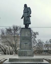 Памятник ГСС В.С.Хользунову в г.Волгограде