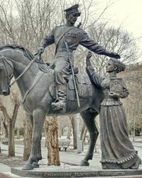 Памятник российскому казачеству «Казачья Слава» в г.Волгограде