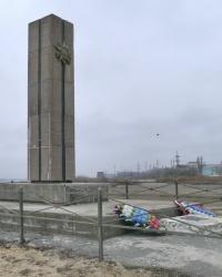 Памятник воинам 95-й стрелковой дивизии — «Лог смерти» в г.Волгограде