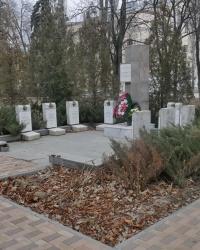 Памятник воинам-интернационалистам в парке Гагарина в г.Волгограде