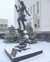 Скульптурная композиция «Овладение левитацией» в г.Волгограде