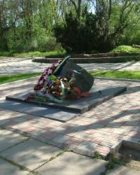 Памятник жертвам Чернобыля от горожан г.Саки