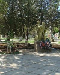 Памятник воинам-интернационалистам в г.Саки