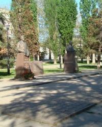 Сквер имени Героев Социалистического труда в г.Симферополь