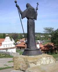 Памятник митрополиту И.Нелюбовичу-Тукальскому в г.Чигирин.