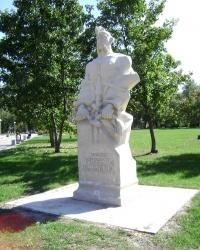 Пам'ятник козаку Микиті Галагану в м.Чигирин
