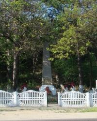 Братская могила партизан в с.Перевальное