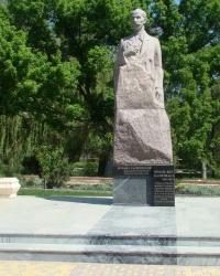 Памятник И.Гаспринскому в г.Симферополь