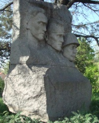 Братская могила советских воинов, погибших 13.04.1944г. при освобождении г.Симферополя