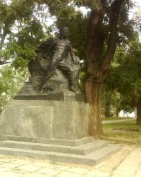 Памятник Вите Коробкову в г.Феодосия