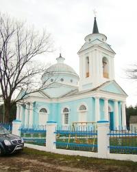 Церковь Св. Варвары в с.Капитоловка