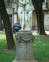 """Скульптура """"Эрот и Психея"""" в г. Одесса"""