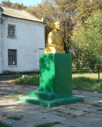 Памятник В.И.Ленину в с.Привольное (Солонянский р-н)