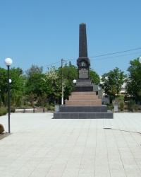 Памятник Василию Рябову в г.Белгород-Днестровский